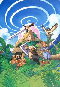 The legend of Zelda Link's Awakening   La leyenda de zelda, Zelda fondo de  pantalla, Zelda