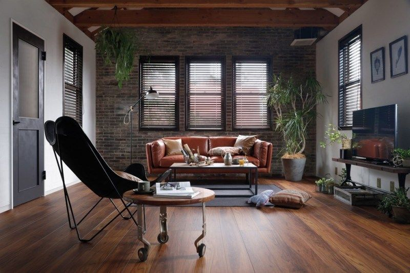 8+ Ways To Design A Rustic Industrial Living Room