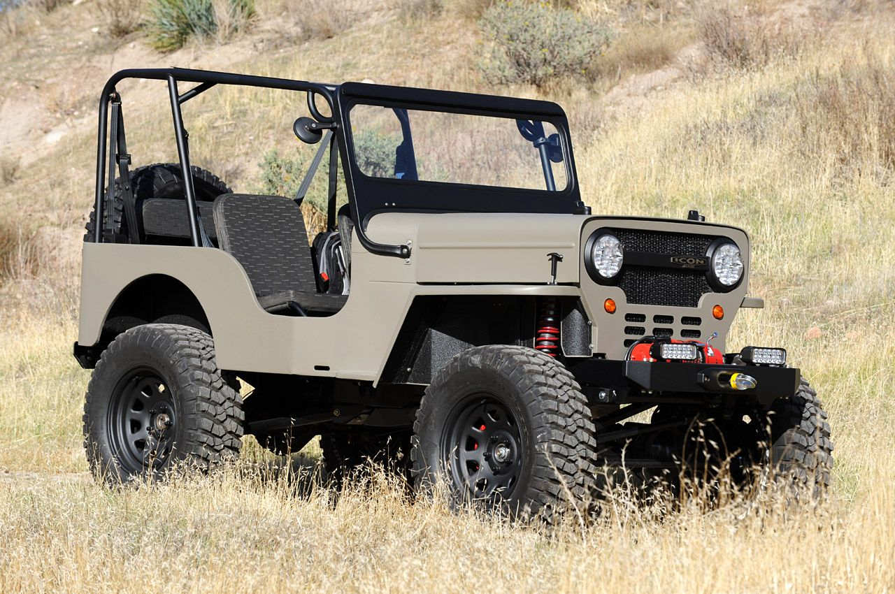 ICON FJ40 Jeep