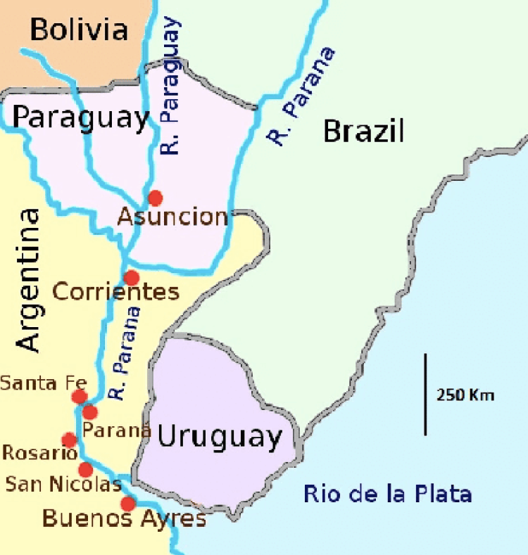 Paraguay and the War of the Triple Alliance - Part 1 | Maps of Latin ...