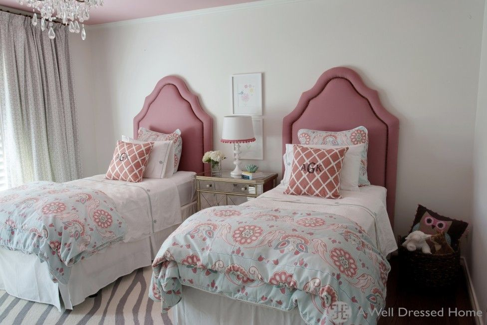 comely pink and grey girls room. Room  Comely Girls A Well Dressed Home Girl Bedroom Decor