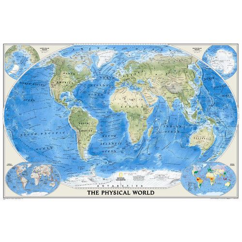 National geographic maps world physical wall map ebay national national geographic maps world physical wall map gumiabroncs Choice Image