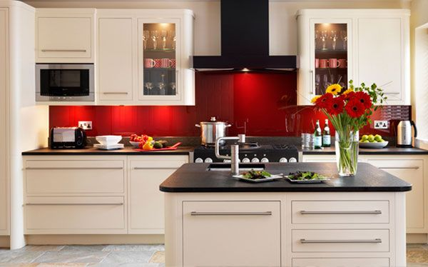 Kitchen Design Red Tiles modern kitchen ideas - planning a kitchen - best kitchen brand