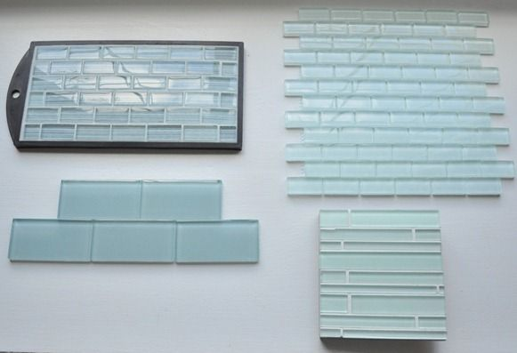 Great glass tile at home depot pictures inspiration the best green blue aqua subway glass mosaic tile kitchen backsplash ppazfo