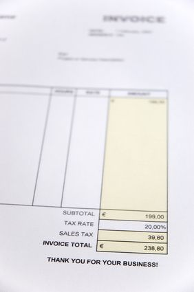 Invoice Page Awesome How To Create A Twopage Quickbooks Invoice Template  Invoice .