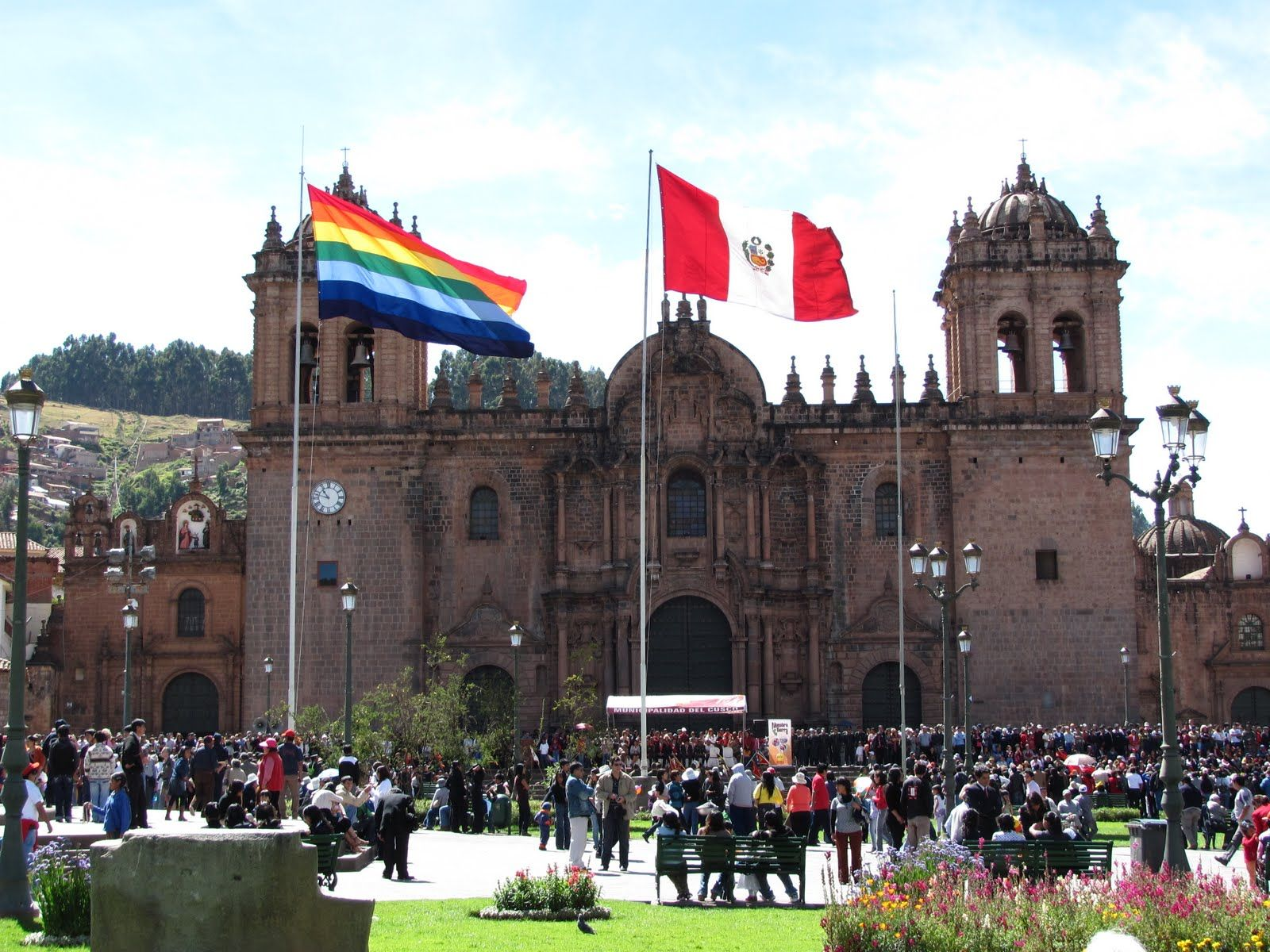 Rezultat slika za Cusco flag