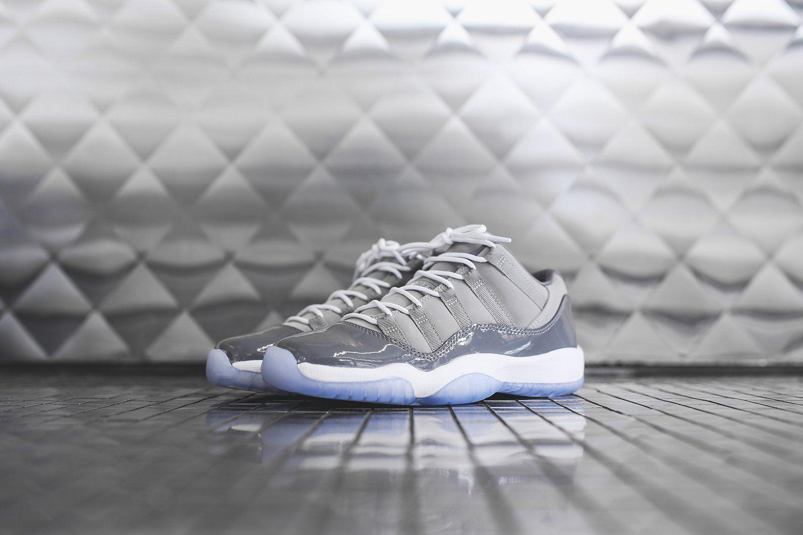 sports shoes bd8fa b0729 Nike GS Air Jordan 11 Retro Low - Cool Grey