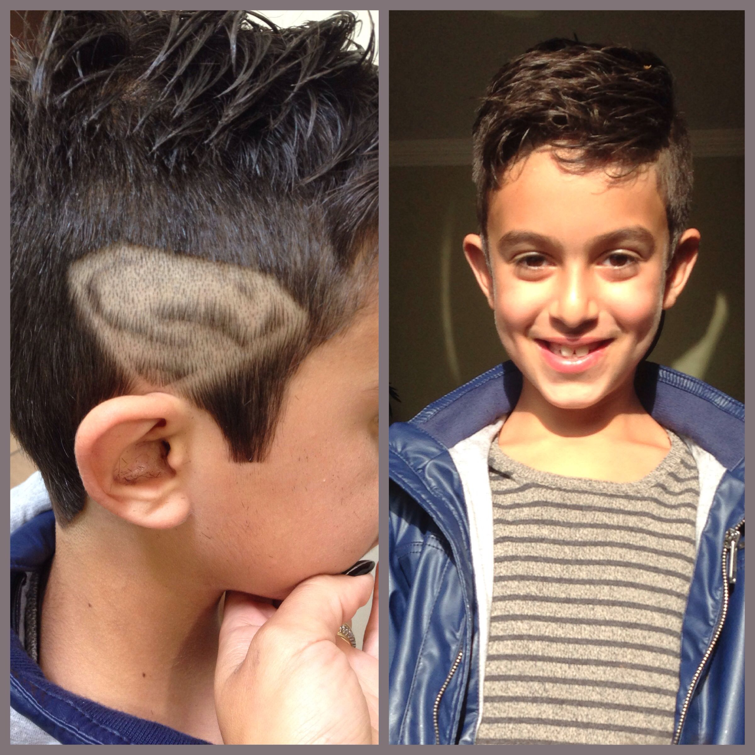 Superman Kids Hair Cut Kids Cuts Pinterest Hair Cuts