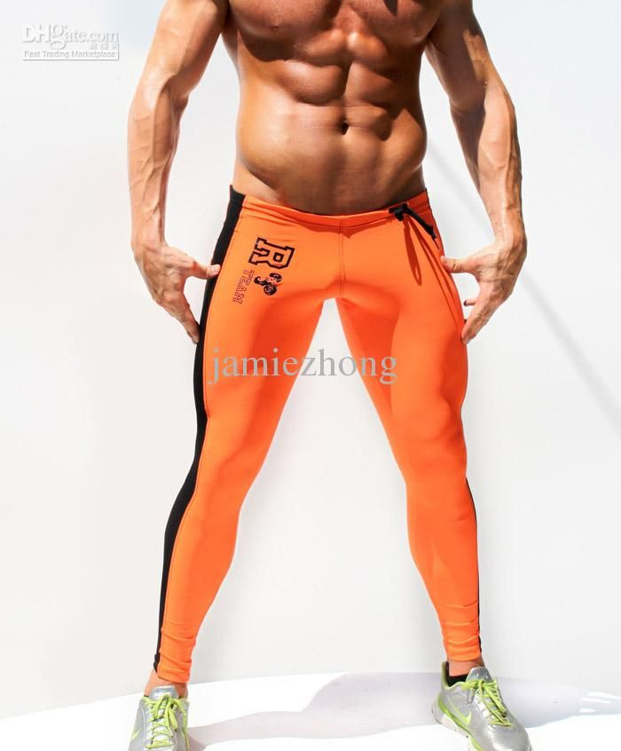 728914aa126edf Wholesale Pants - Buy Sexy Rufskin Men's Elastic Gym Sports Biking  Compression Full Leg Pants Leggings Tights, $30.83 | DHgate