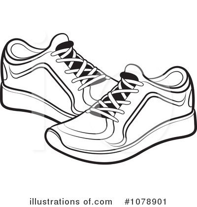 Shoe Black And White Clipart White Tennis Shoes Shoes Clipart Shoes