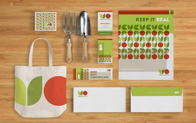 Urban Organics  Identity, Print, Digital
