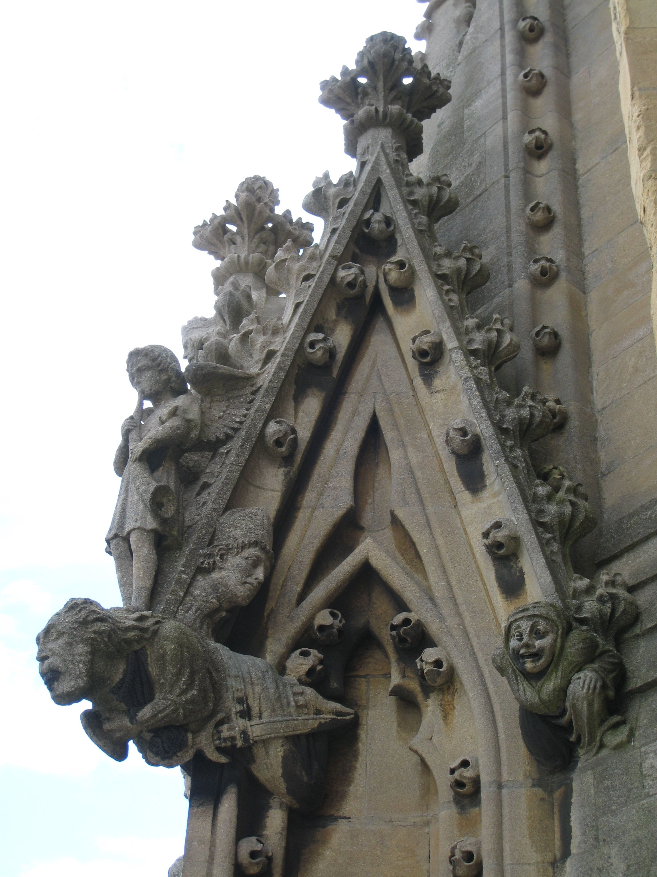 More Gargoyles Were Added To Ward Away Evil Spirits Those On Notre Dame