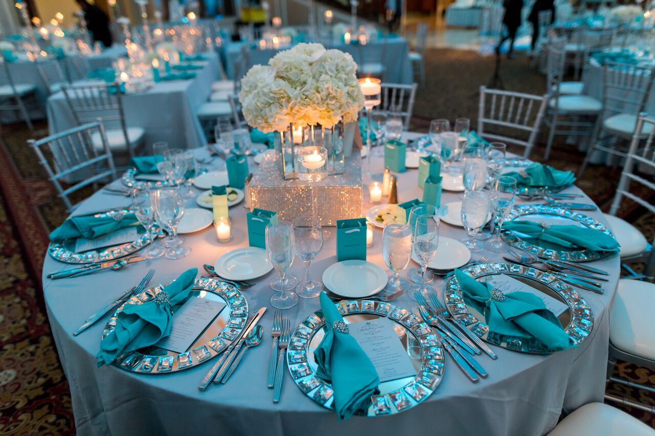 tiffany blue and silver in 2019 | tiffany blue weddings