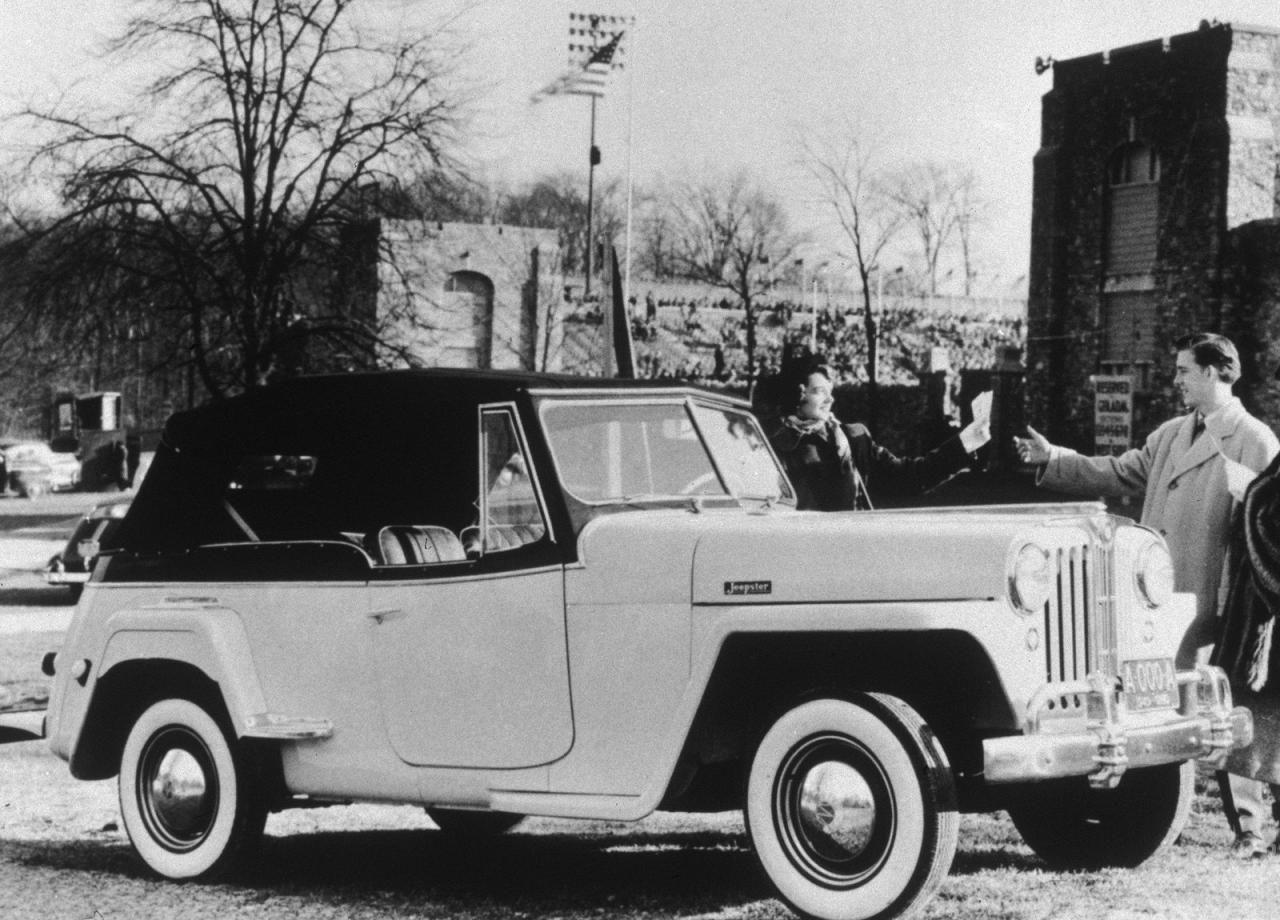 1948 Jeep Jeepster Jeepster Classic Jeeps Vintage Jeep