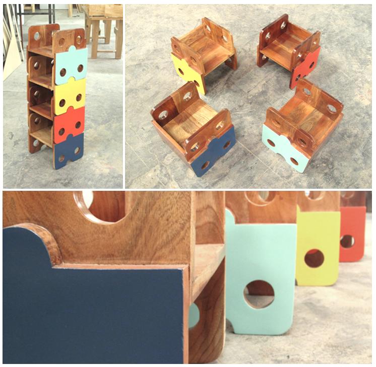 Sillas de madera apilables para niños. | kids room | Pinterest ...