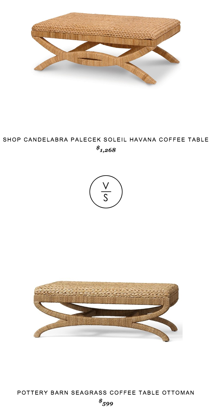 Palecek Soleil Havana Coffee Table Copycatchic Daily