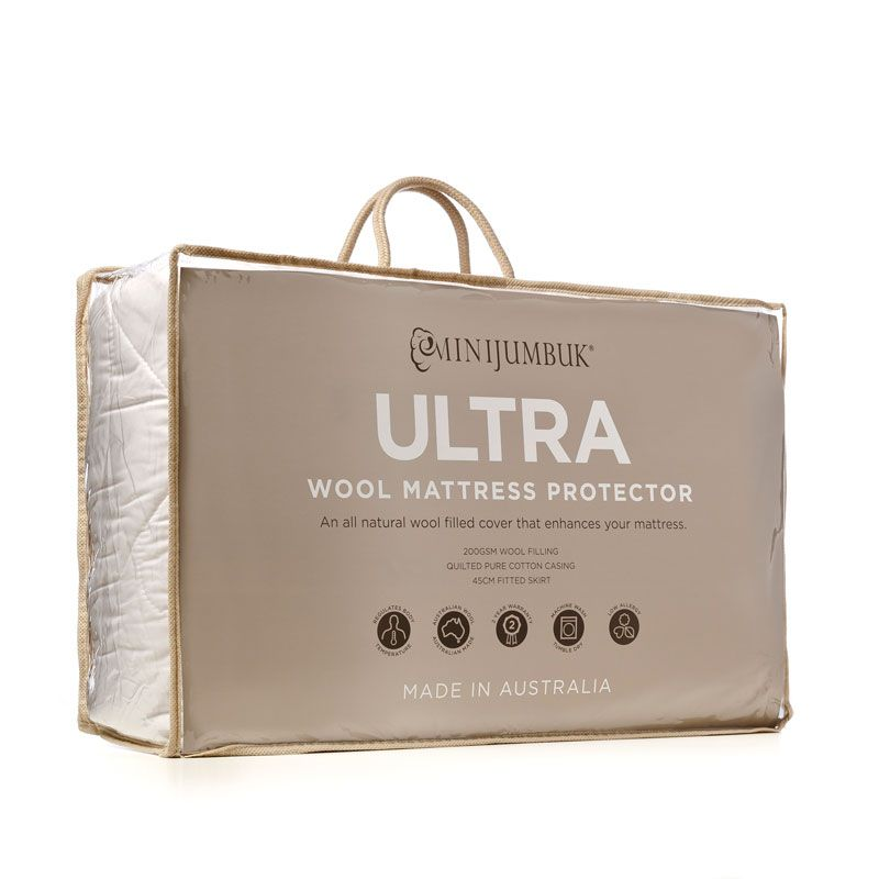 Our Ultra Wool Mattress Protector Is An All Natural Cotton And Wool Combined To Enhance And Protect Your Mattress Mattress Protector Mattress Wool Mattress