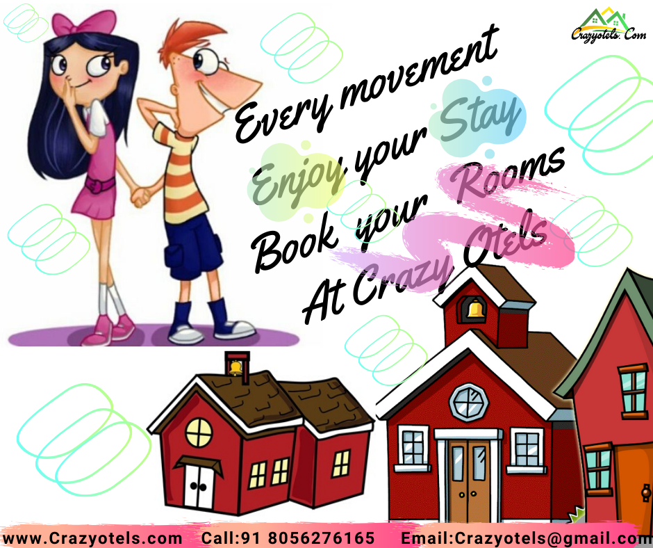 Every movement Enjoy your Stay Book your Rooms At Crazy Otels in 2020    Room book, Business travel, Books