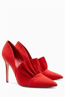 Frill Point Court Shoes (752245) | £42 Next | Heel of the day ...