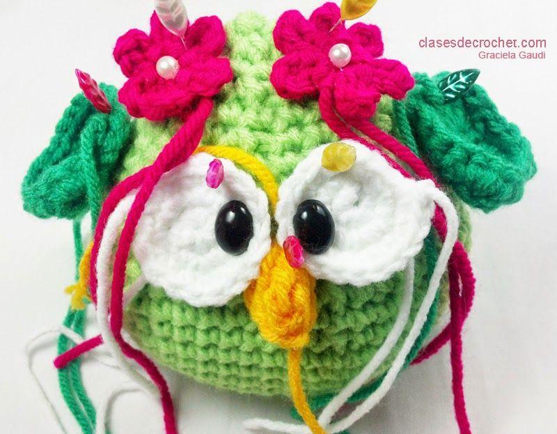 clases tejido crochet, patrones gratis, amigurumis | verde | Pinterest
