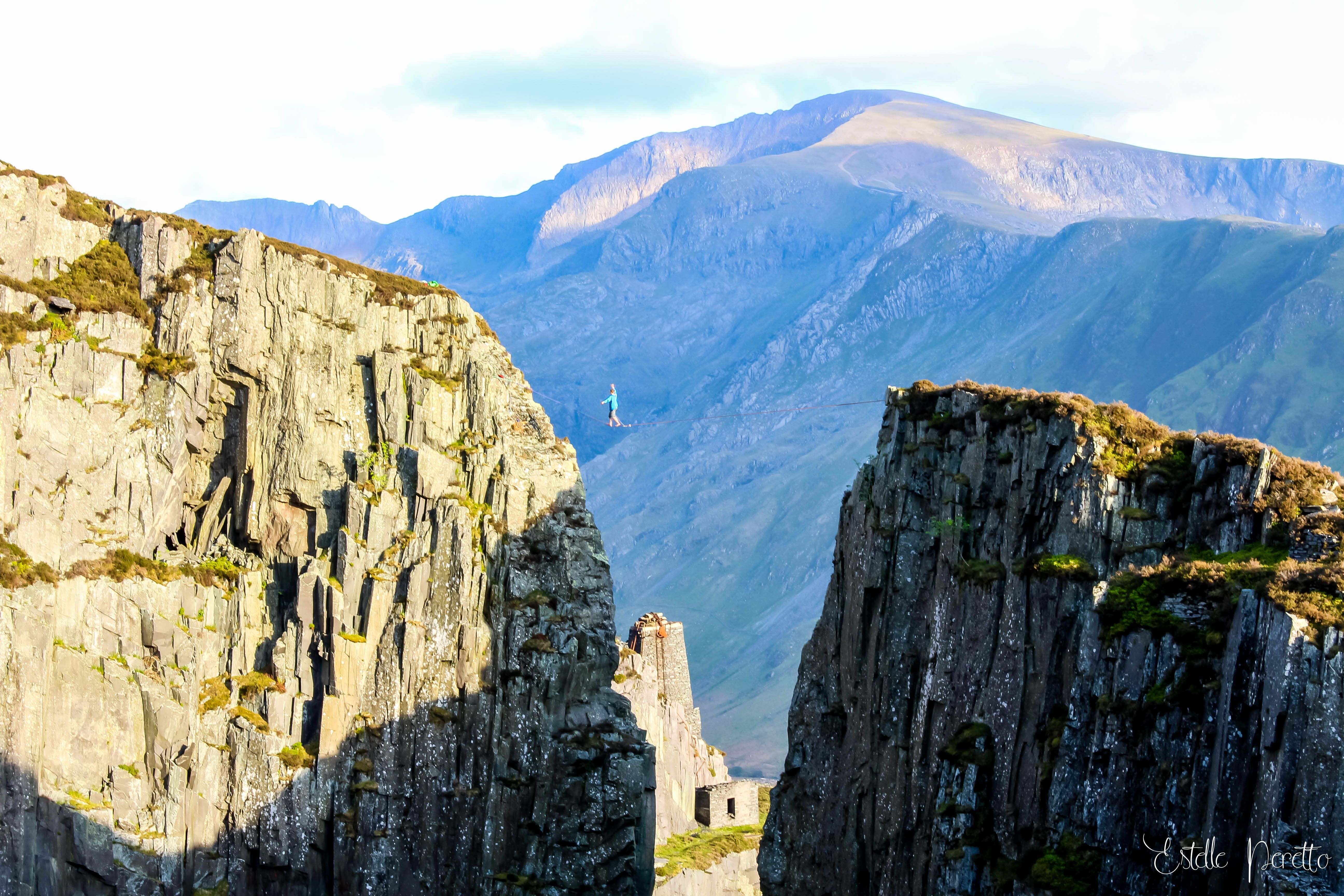 The Slate Quarries-Wales Photo : Estelle Peretto