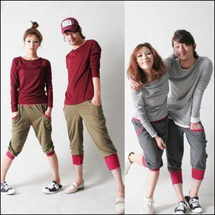 Korean Couple Fashion Together Forever Couple Matching