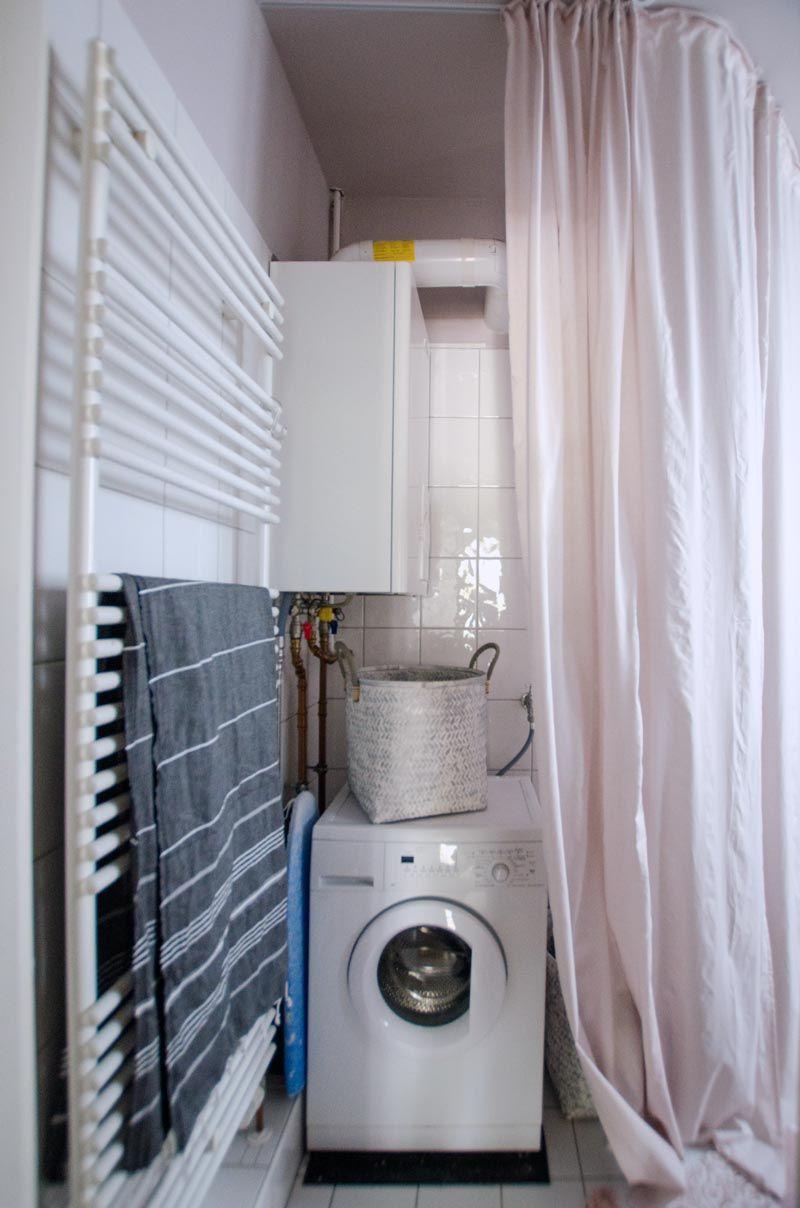 Individuelle Badezimmer Einrichtung Oder Tschuss Gastherme Und Waschmaschine Von Innen Badezimmer Einrichtung Badezimmer Badezimmereinrichtung
