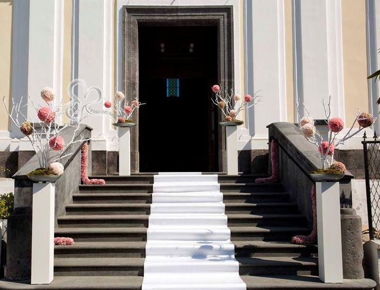 Allestimenti floreali in chiesa addobbi floreali chiesa for Casa minimal chic