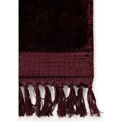 Photo of benuta Naturals Viskoseteppich Pearl Bordeaux 250×350 cm – Moderner Teppich für Wohnzimmerbenuta.de