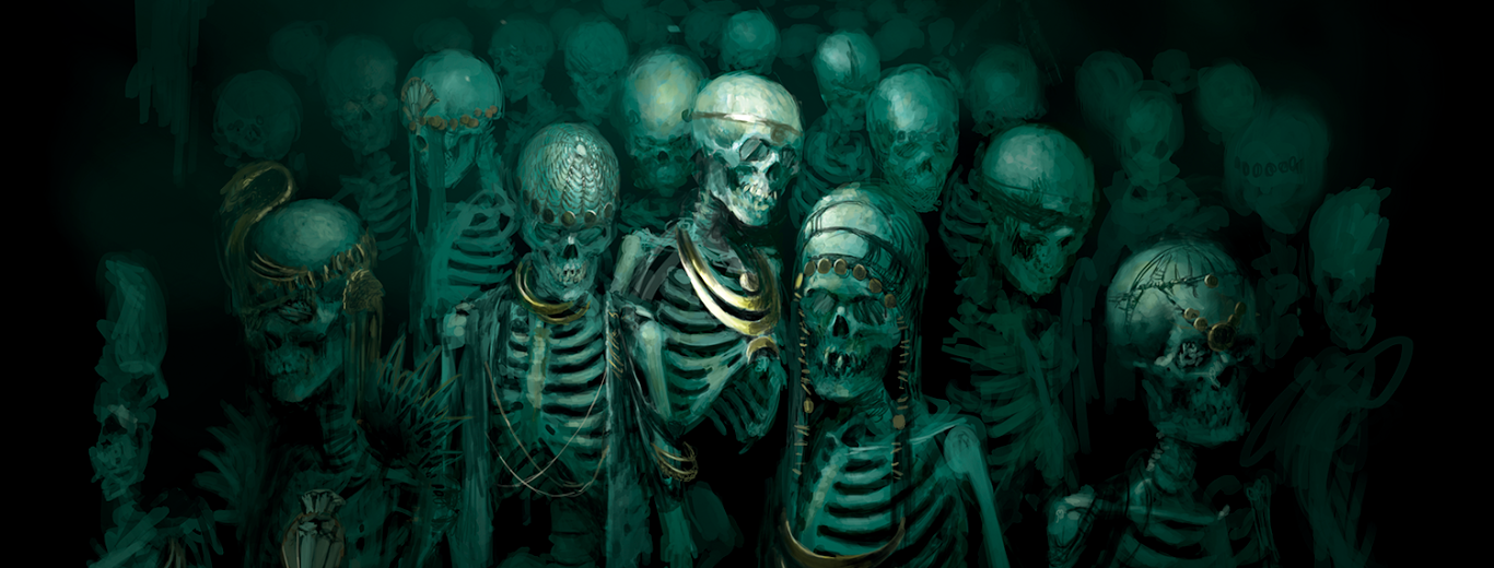 Squelettes, par (auteur inconnu), in Warhammer Age of Sigmar Shadespire, par Games Workshop