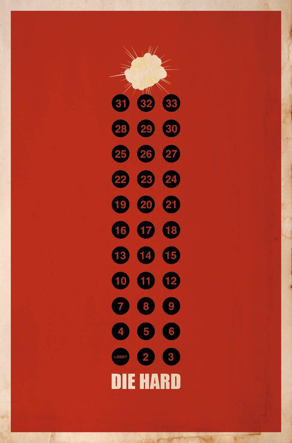 Die Hard Minimalistskie Postery K Filmam Plakaty K Filmam V
