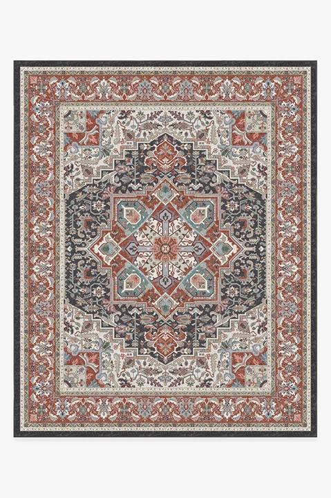 Hendesi Heriz Garnet Rug Rugs Persian Rug Designs Machine