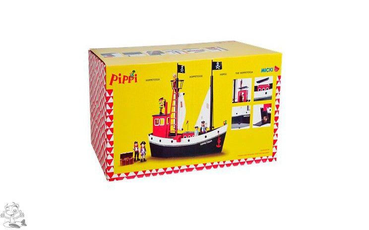 Pippi Långstrump, Skeppet Hoppetossa