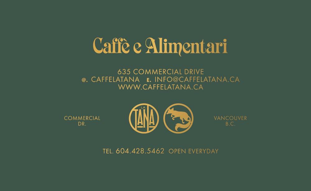 Caffé La Tana Glasfurd & Walker Glasfurd & Walker