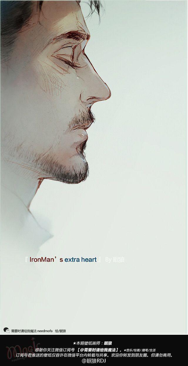 Tony Stark Iron Man wallpaper to wallpaper CP 8 ... from wolf sleep --- 【手机壁纸】Tony Stark 钢铁侠CP向壁纸共8... 来自眠狼 - 微博