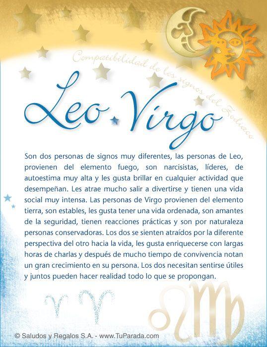 Leo Leo Virgo Compatibilidad Virgo Virgo Y Tauro