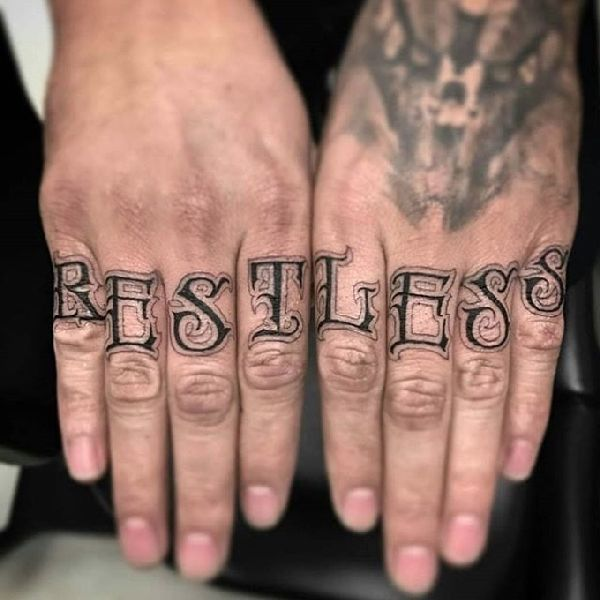 Pin By Anthony Martin On Tattoos: Die Probleme Mit Den Finger Tattoos
