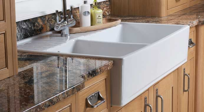traditional shaker belfast sink drainer cocina. Black Bedroom Furniture Sets. Home Design Ideas