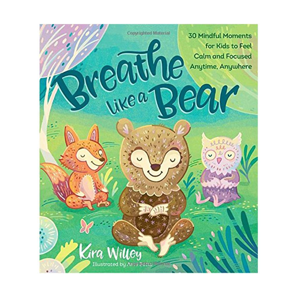 Breathe Like A Bear 30 Mindful Moments For Kids To Feel Calm And Focused Anytime Anywhere Is A Hardcover Chil Childrens Books Space Books For Kids Kids Book