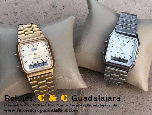 de4dc708b0a5 Casio AQ230 Gold   1