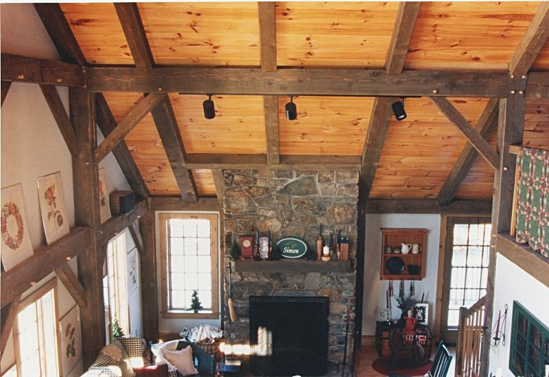 Timber Frame Interiors   Google Search