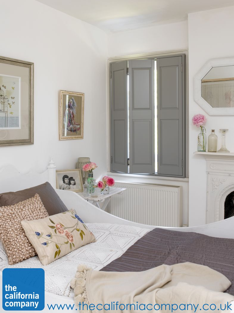 Beau Light A Problem At Night In Your Bedroom? Cut It Out With Our Solid Shutters!  From Www.californiashutters.co.uk.