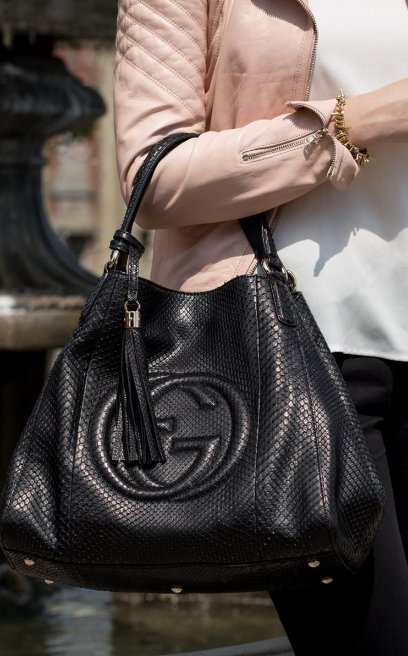 Pre-owned - Python bag Gucci wPx6E