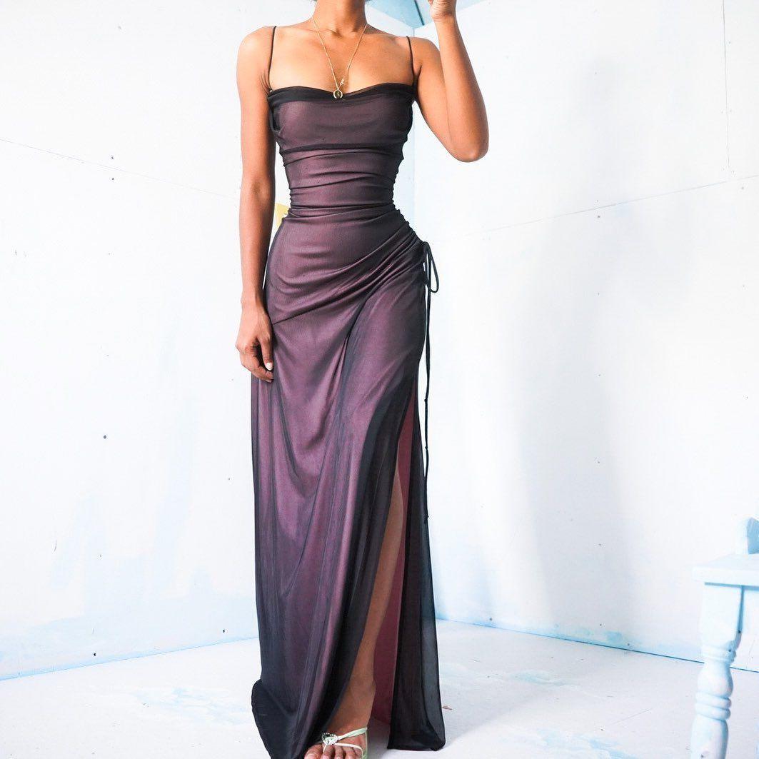 9 206 Likes 20 Comments Masha Jlynn Masha Jlynn On Instagram Sold Vintage 90 S Mauve Y Pink And Bla Pretty Prom Dresses Ball Dresses Gorgeous Dresses [ 1063 x 1063 Pixel ]