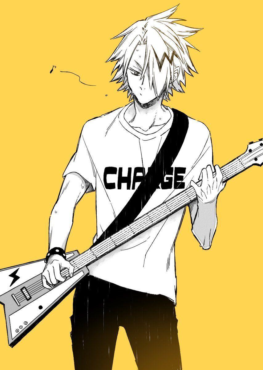 'A shock'.~Guitarist Denki x Reader (FINI!!)