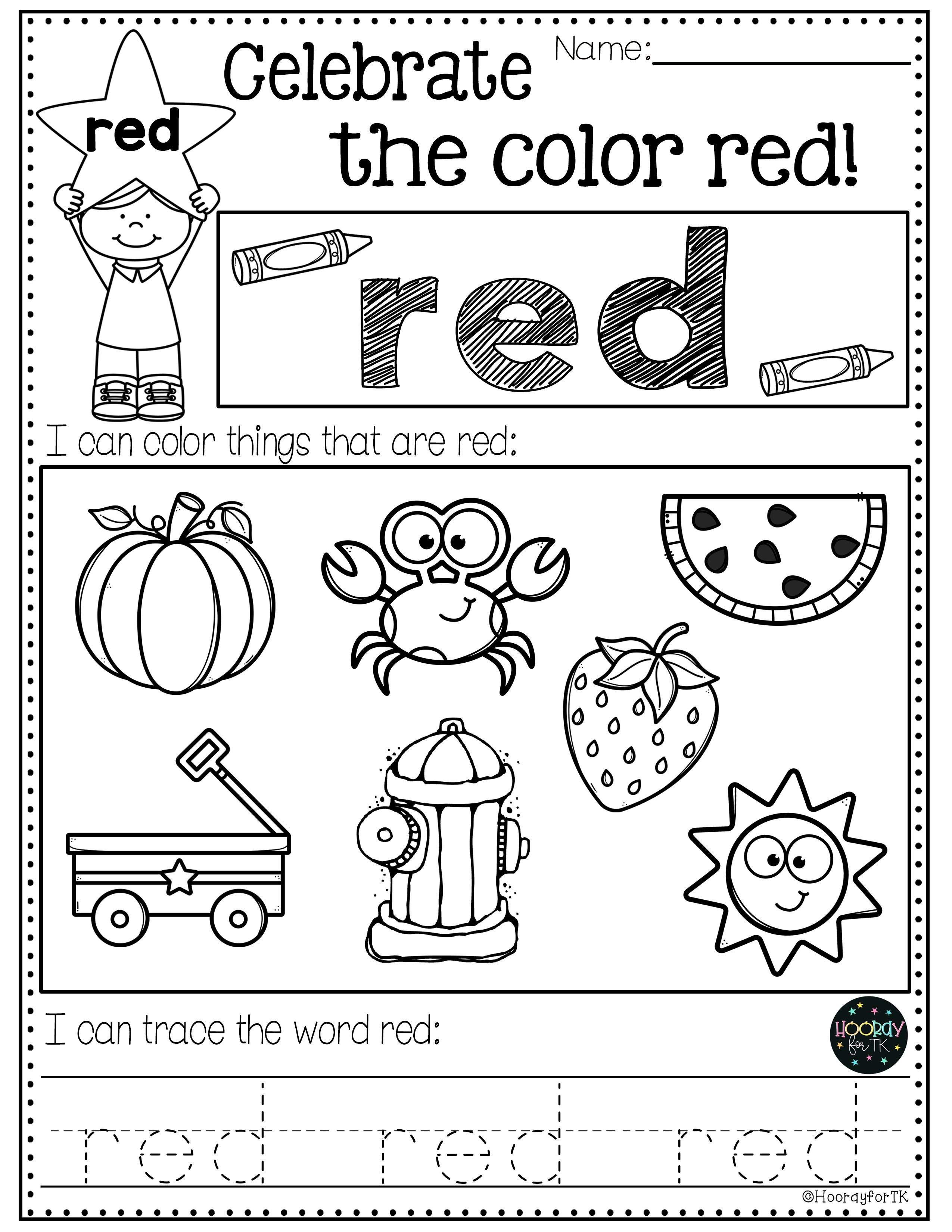Back To School Worksheets In