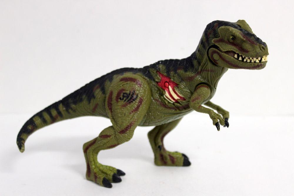 Jurassic Park T-Rex Roaring Action Figure, Hasbro / Universal 2000 5 ...
