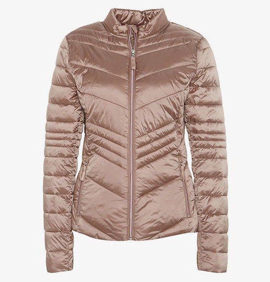 TOM TAILOR Steppjacke Damen Jacke Lightweight Jacket beige