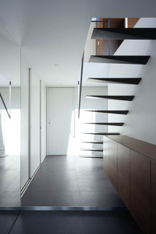 Staircase At The Ring House by Apollo Architects