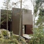 A Swedish Villa Surrounded By Forest